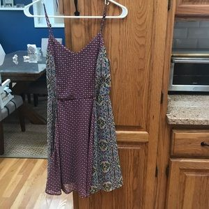Cute patterned dress for summer